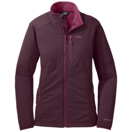 OR Women's Ascendant Jacket pinot/raspberry