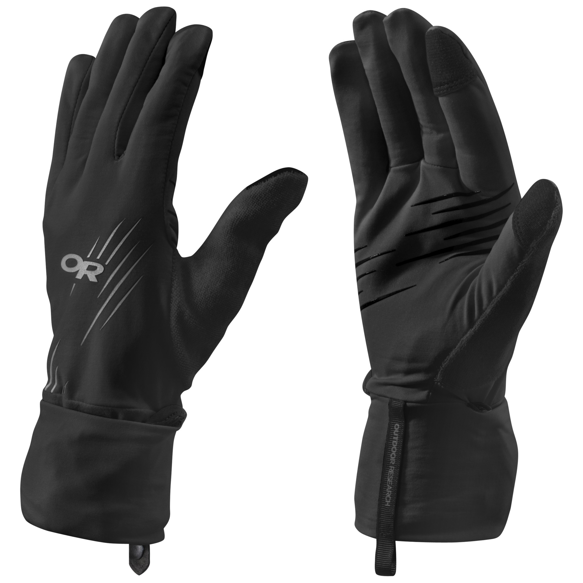 cac58084be Overdrive Convertible Gloves - charcoal heather/lemongrass | Outdoor ...
