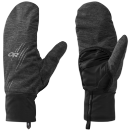 OR Overdrive Convertible Gloves charcoal heather/black