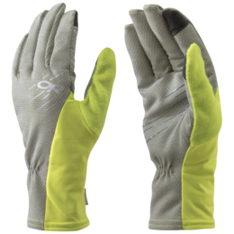 OR Shiftup Sensor Gloves pewter/lemongrass