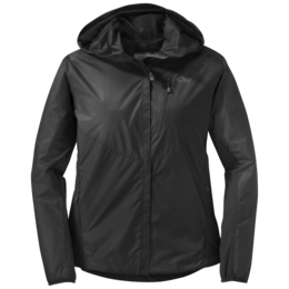 OR Women's Helium Hybrid Hooded Jacket black