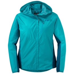 OR Women's Helium Hybrid Hooded Jacket typhoon