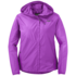 OR Women's Helium Hybrid Hooded Jacket ultraviolet