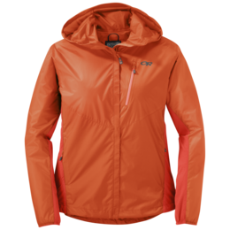 OR Women's Helium Hybrid Hooded Jacket bahama/paprika