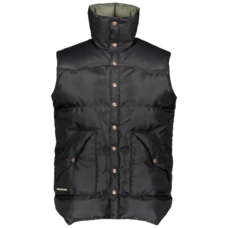 Powderhorn The Original Leather Vest