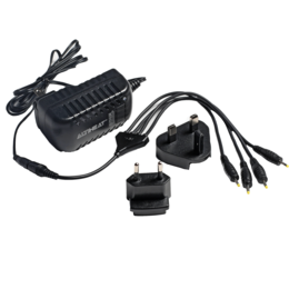 OR 4-Way Battery Charger black