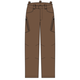 OR Obsidian Pants - USA coyote