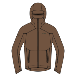 OR Obsidian Hooded Jacket - USA coyote