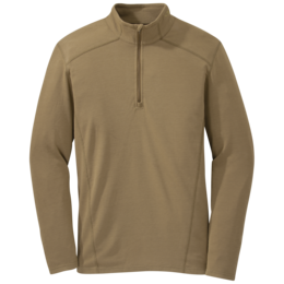 OR Foundation L/S Zip Top coyote