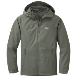 OR Obsidian Hooded Jacket mas grey