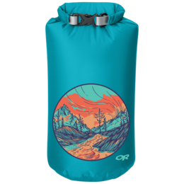 OR Graphic Dry Sack 10L Alpenglow typhoon