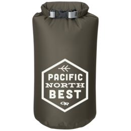 OR Graphic Dry Sack 10L PNW Badge fatigue