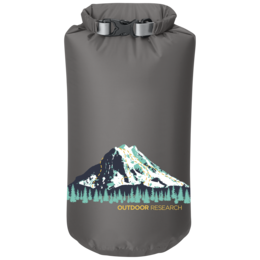 OR Graphic Dry Sack 15L Rainier pewter