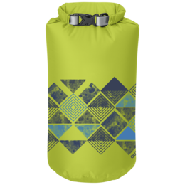 OR Graphic Dry Sack 20L Abstract Wrap lemongrass