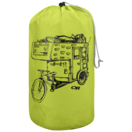 OR Graphic Stuff Sack 35L Dirtbag lemongrass