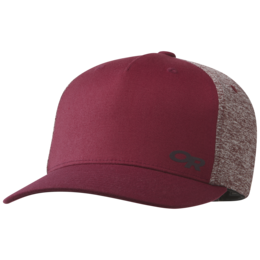OR She Adventures Trucker Cap garnet