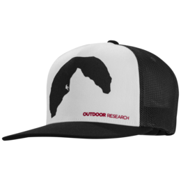 OR Negative Space Trucker Cap black