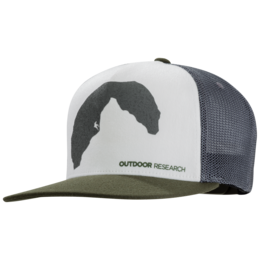 OR Negative Space Trucker Cap fatigue