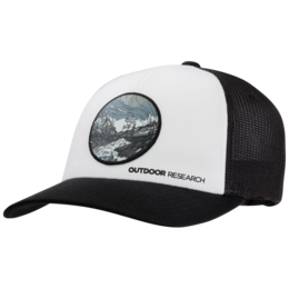 OR Alpenglow Trucker Cap black