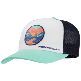 OR Alpenglow Trucker Cap tahiti