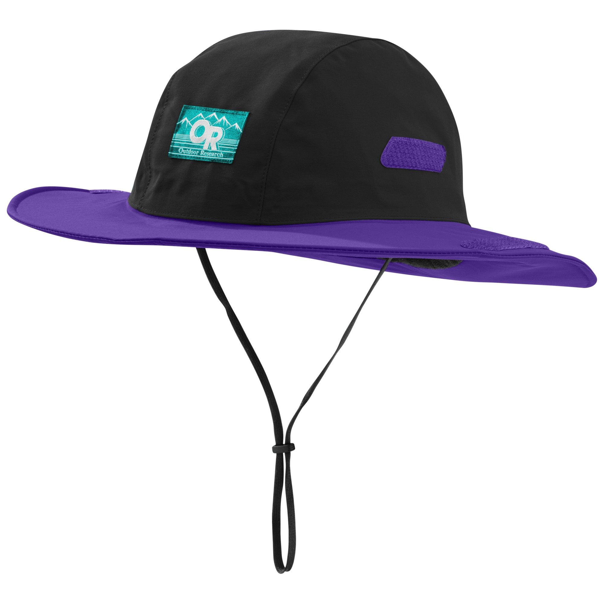 cc37dbafa43ed Retro Seattle Sombrero - black purple rain