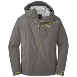 OR Men's Interstellar Jacket pewter/lemongrass