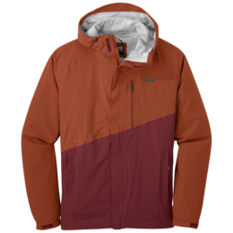 OR Men's Panorama Point Jacket burnt orange/firebrick