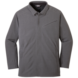 OR Men's Prologue Travel Jacket charcoal heather