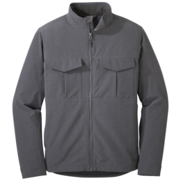 OR Men's Prologue Field Jacket charcoal heather