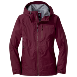 OR Women's Optimizer Jacket garnet