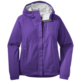 OR Women's Panorama Point Jacket purple rain herringbone