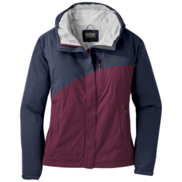 OR Women's Panorama Point Jacket naval blue/garnet