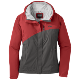 OR Women's Panorama Point Jacket tomato/pewter