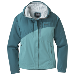 OR Women's Panorama Point Jacket washed peacock hrngbn/seaglass