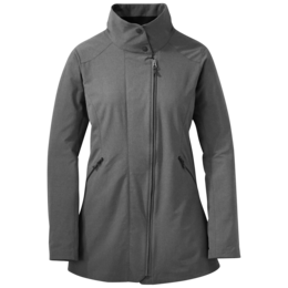 OR Women's Prologue Trench charcoal heather