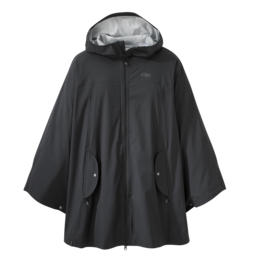 OR Women's Panorama Point Poncho black