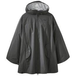 OR Women's Panorama Point Poncho charcoal heather