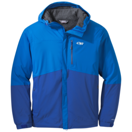 OR M's Ascendant Plus Hooded Jacket glacier/baltic