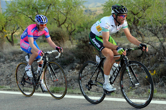 Michael Albasini fighting to keep his Leader's Jersey
