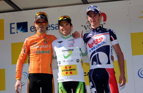Michael wins the Volta a Catalunya Overall