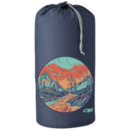OR Graphic Stuff Sack 10L Alpenglow dusk