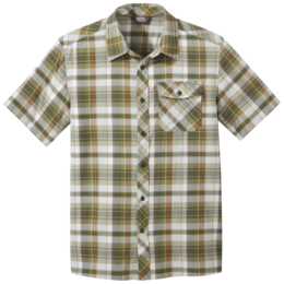 OR Men's Pale Ale S/S Shirt seaweed large plaid