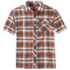 OR Men's Pale Ale S/S Shirt washed peacock large plaid