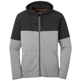 OR Men's Fifth Force Hoody charcoal heather/black