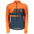 nightfall blue/mandarin orange