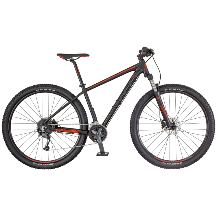 SCOTT Aspect 940 Bike schwarz/rot