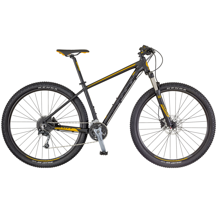 Bicicletta SCOTT Aspect 930 black/yellow