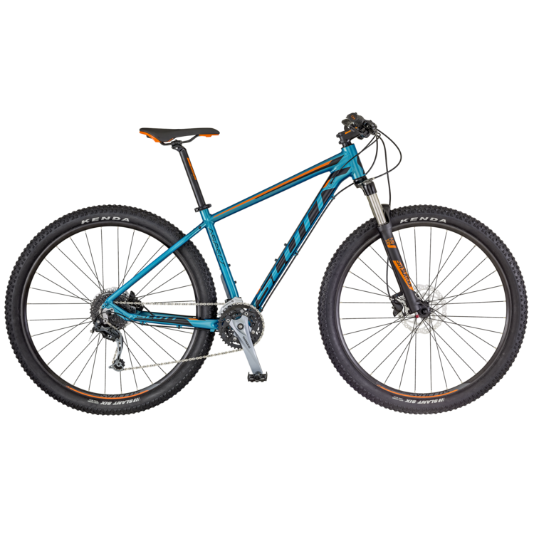 SCOTT Aspect 730 Bike blau/orange