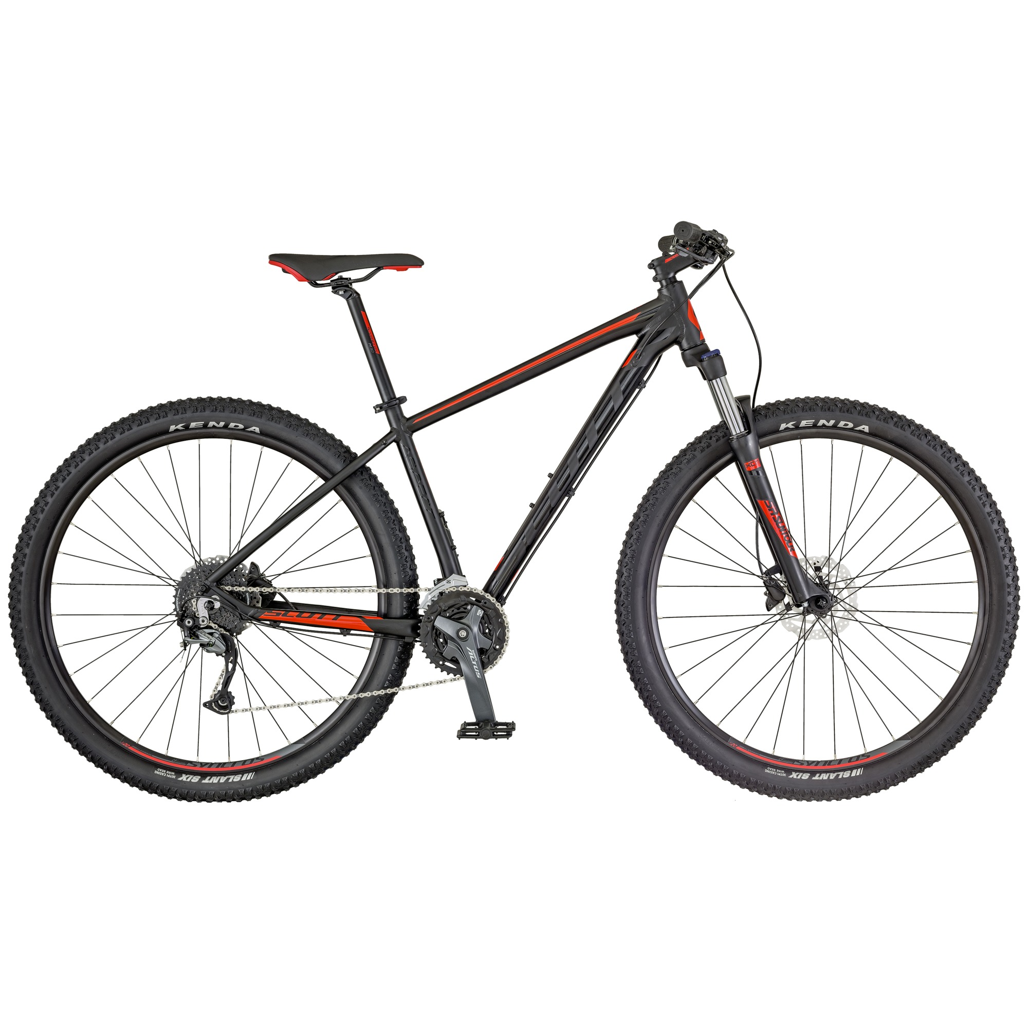 SCOTT Aspect 740 black/red Bike