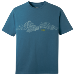 OR Men's Mountain Stripe Tee peacock